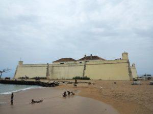 Sao Tomè, Forte de Sao Sebastiao, Museo Nacional    (2016)    (foto Giorgio Pagano)