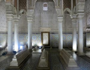 Marrakech, il Mausoleo delle tombe sadiane  (2018)  (foto Giorgio Pagano)