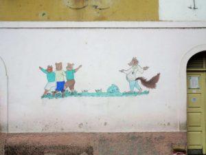 Roça di Ponta Figo, la scuola  (foto Giorgio Pagano)