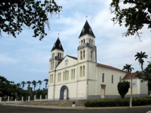 Sao Tomè, Cattedrale di Nostra Signora della Grazia   (foto Giorgio Pagano)