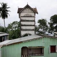 Roça di Diogo Vaz,un edificio già coloniale