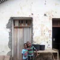 Roça di Ponta Figo,bambini