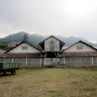 Roça di Monte Cafè,edificio già coloniale