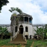 Roça di Agua Izè,edificio già coloniale