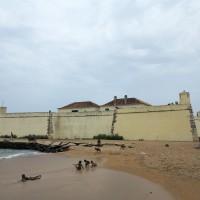 Sao Tomè, il Forte di San Sebastiano,sede del Museo Nazionale